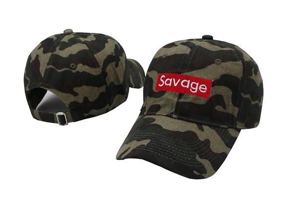 SAVAGE CAMOUFLAGE BASEBALL CAP