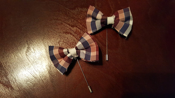 SPENCER BOWTIE LAPEL PIN