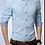 Thumbnail: BUTTON COLLAR WINDOWPANE DRESS SHIRT