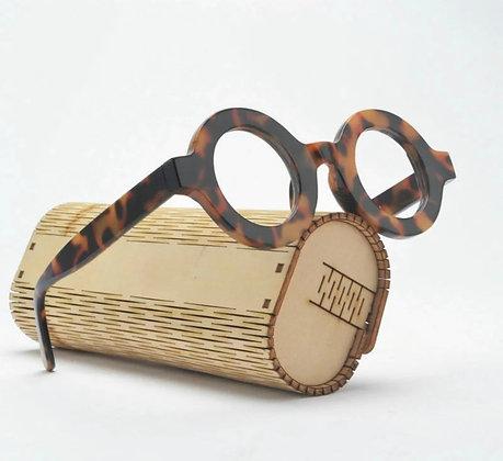Men's Vintage Leopard Frames