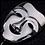 Thumbnail: COMEDY & TRAGEDY MASK LAPEL PIN