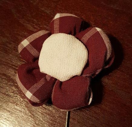 CARSON FLOWER LAPEL PIN