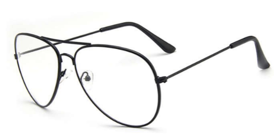 AVIATOR PILOT OPTICAL CLEAR EYEWEAR
