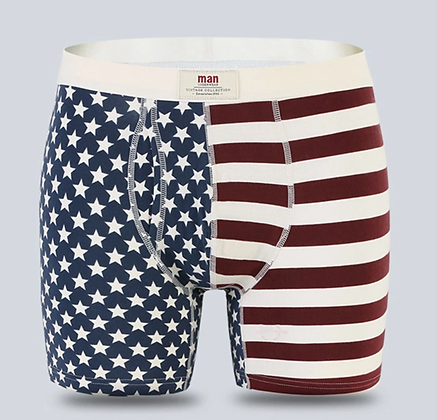 FLAG BOXER BRIEFS
