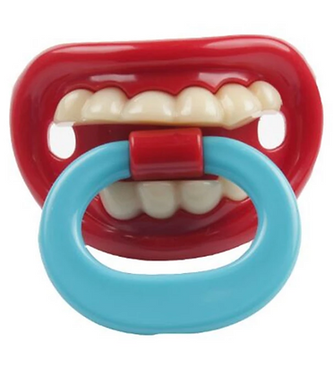 FUNNY TEETH PACIFIER