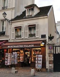 Montmartre Village - boutique de souveni