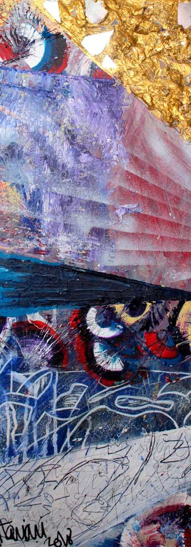 Textures x Spirales-Miroirs 03, Patchwor