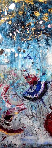 Textures x Spiralesmiroirs 02, mixed med