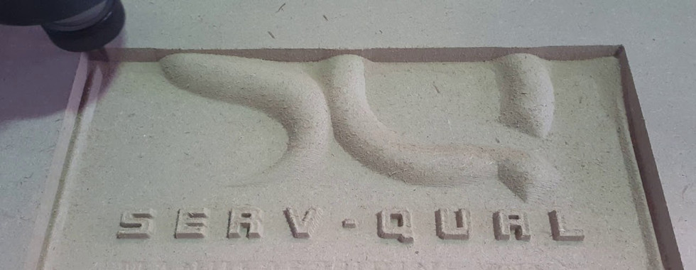 CNC Router - 3D drawing