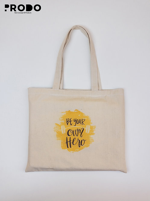 Tote Bag - Be your own hero Design