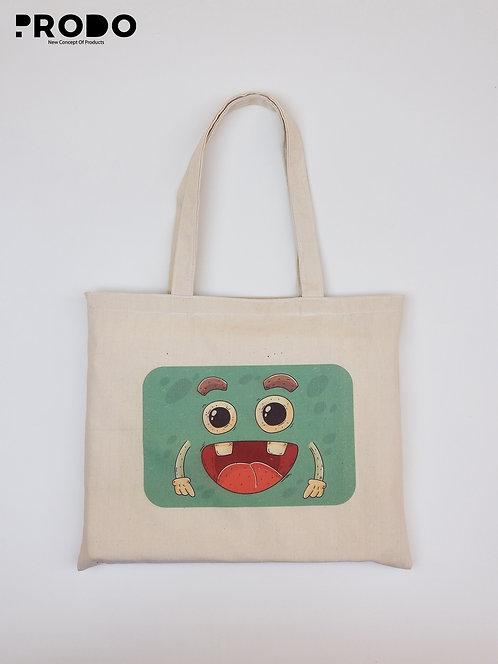 Tote Bag - Green Shape Design