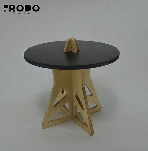 Twin Table Black Short