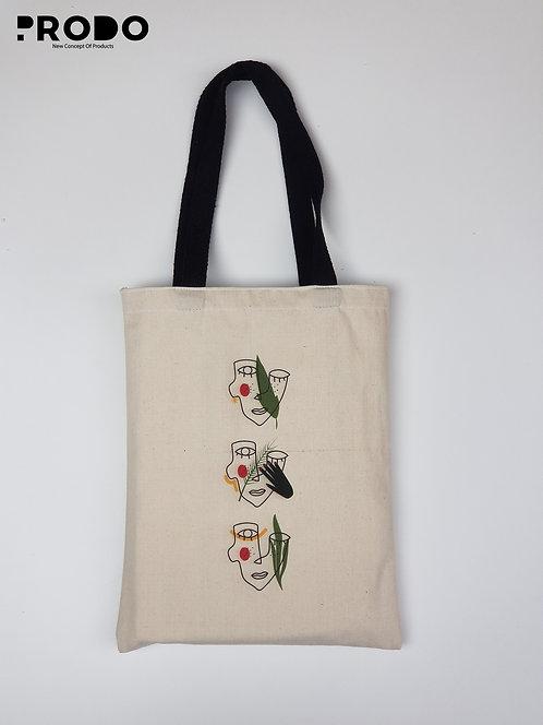 Tote Bag - Continuous Line Art  Design