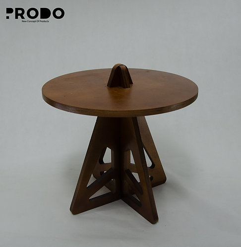 Twin Table Brown Short