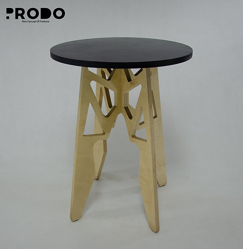 Twin Table Black Long