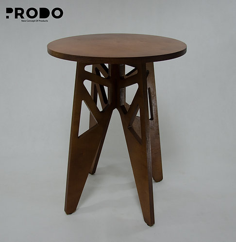 Twin Table Brown Long