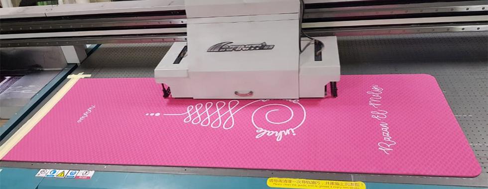 Yoga Matt printing