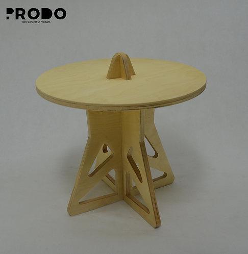 Plain Twin Table Short Body