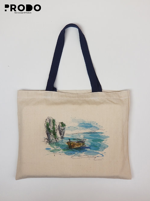 Tote Bag - Boat Design