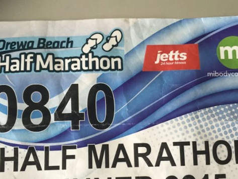 What competing in a half marathon reminded me about achieving success