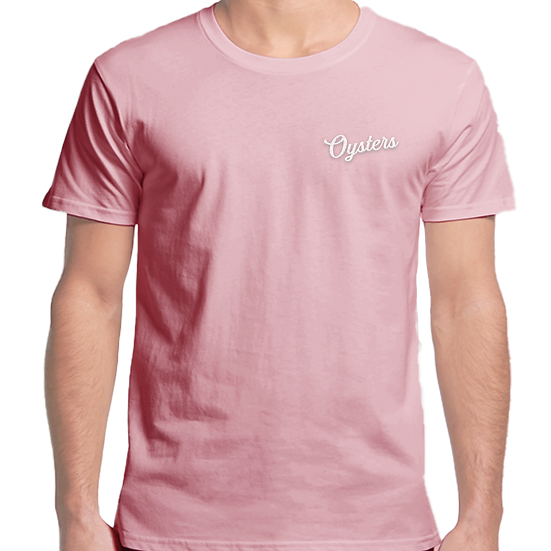 Oysters 'Sydney' Tee - Pink