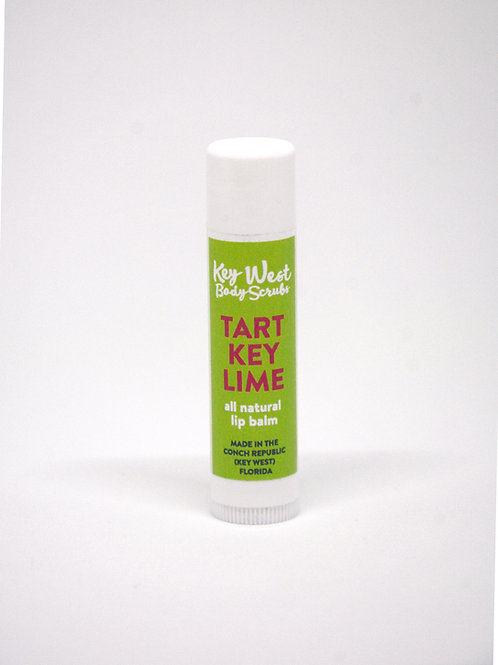 Tart Key Lime all Natural Lip balm tube
