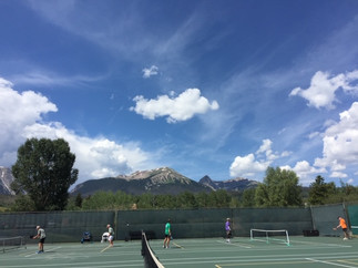 Playing at 9200 ft. in Summit County, CO!