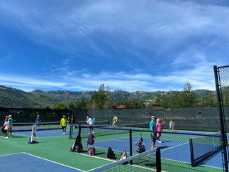 Courts Were Always Full in Park City!