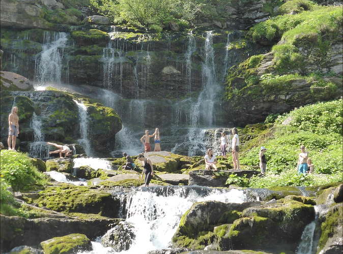 Nature & cascades samoens