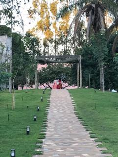 caminho do templo