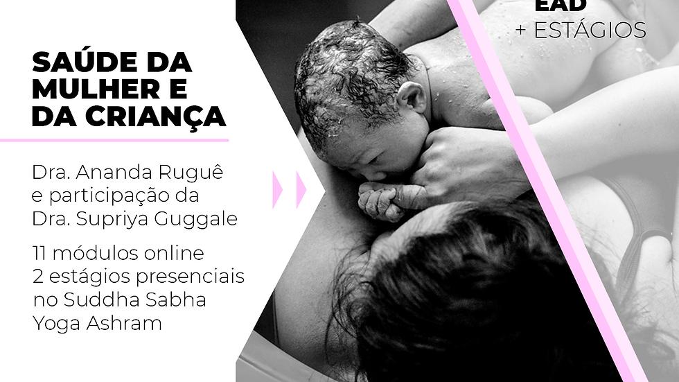 Saúde da Mulher e da Criança com Ayurveda EAD