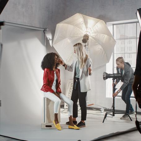 Descubre el mundo del maquillaje para fotografía publicitaria