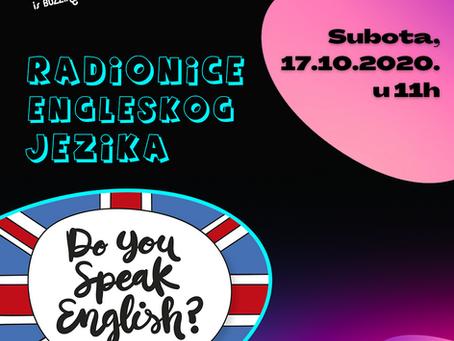 Javni poziv| RADIONICA ENGLESKOG JEZIKA