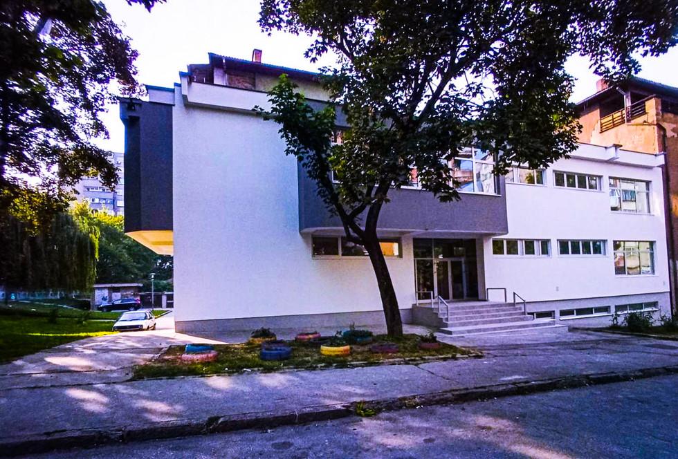 Renovirana zgrada Centra za mlade Zenica.