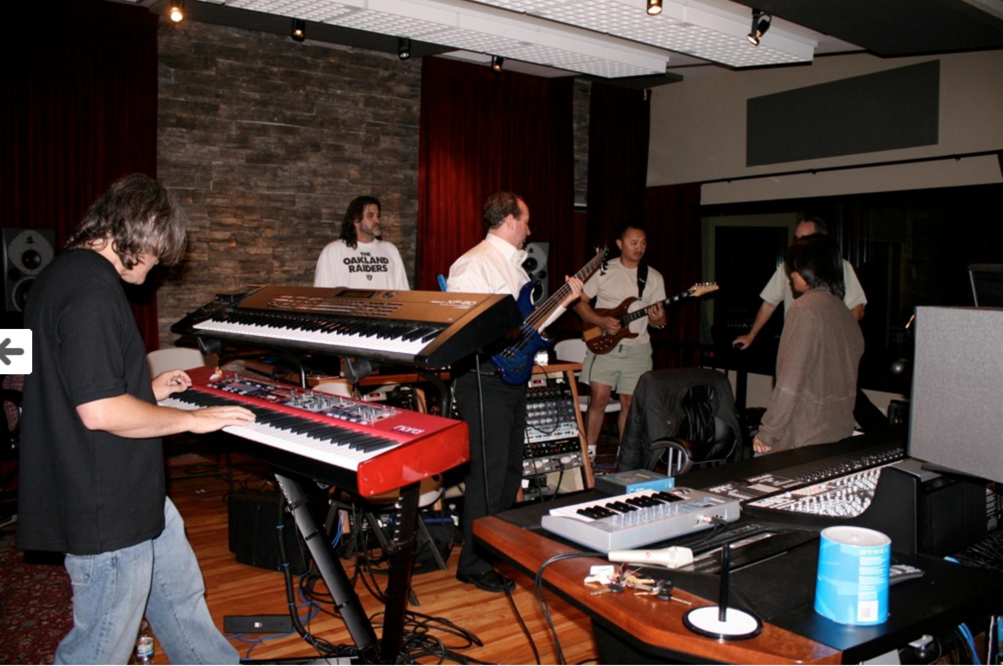Recording At Track Shack