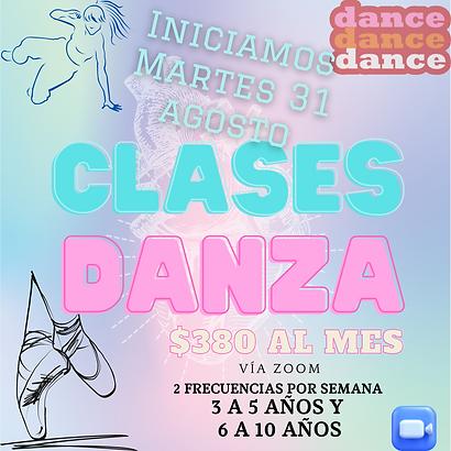 clases de danza para niñas ballet online