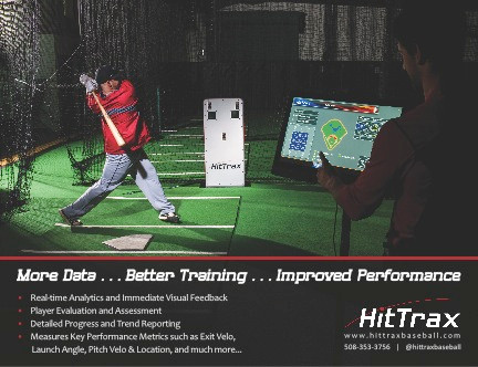 Summit adds HitTrax Baseball Simulator to Facility!
