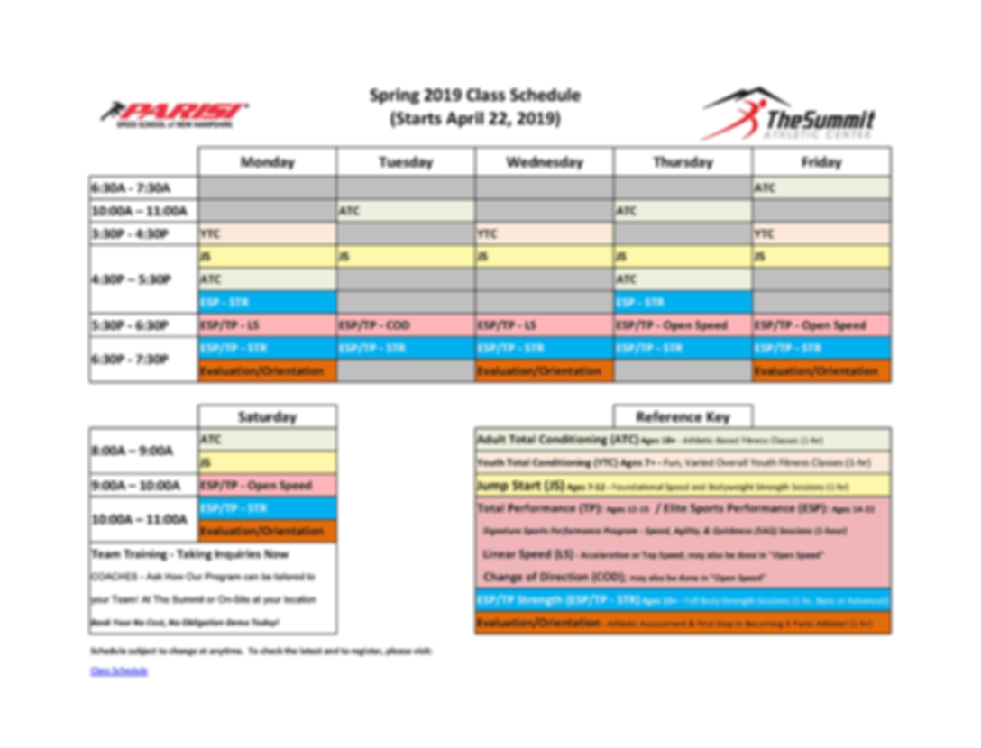 Parisi Spring 2019 Schedule.png