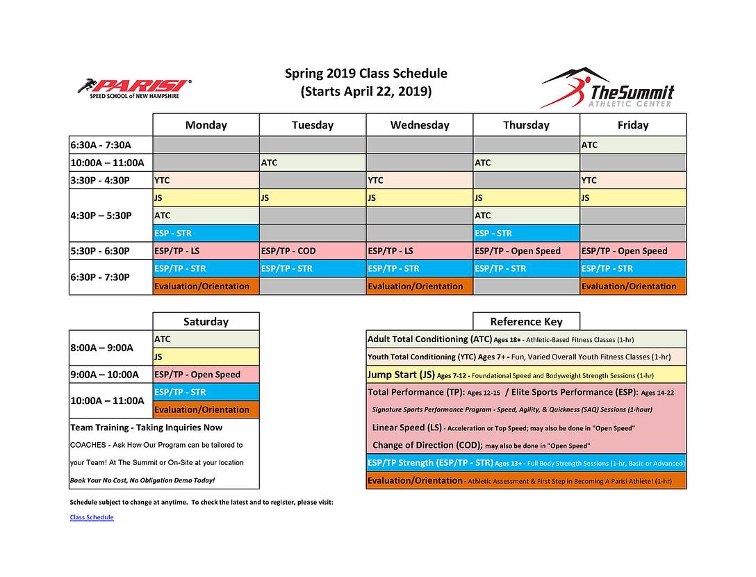 Parisi Spring 2019 Schedule.png