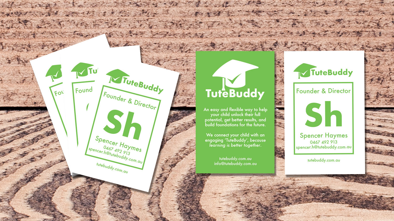 TuteBuddy Business Card Design