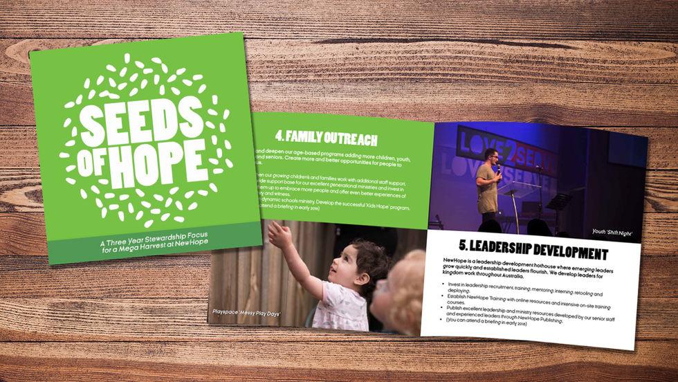Seeds of Hope Brochure Design