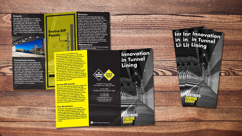 Lee Brothers Fencing Brochure Design