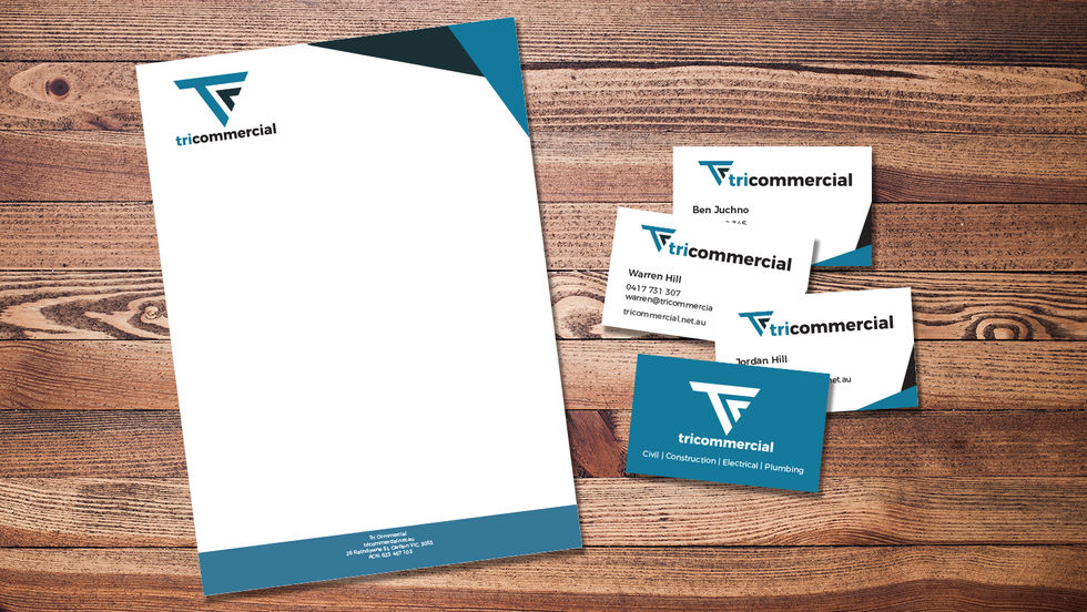 Tri Commercial Branding Design