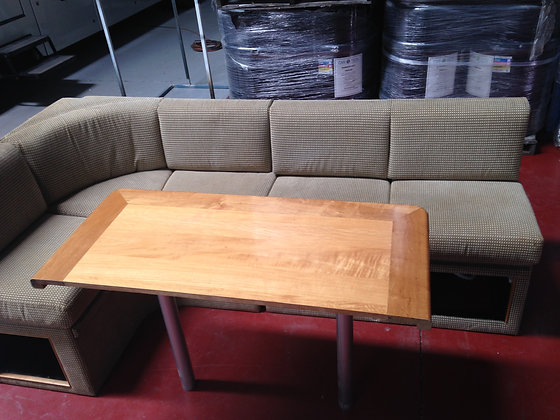 Motorhome Corner Lounge Dinette
