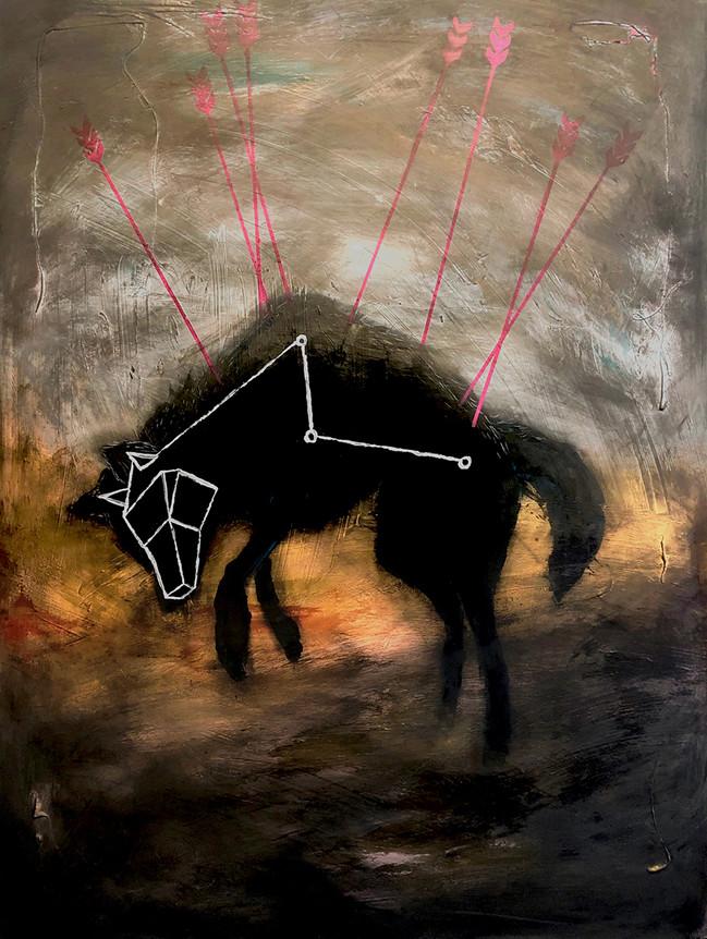 wolf telescoped