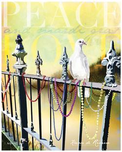 peace, love & Mardi Gras