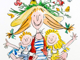 Inspiring Artist of the day - Quentin Blake