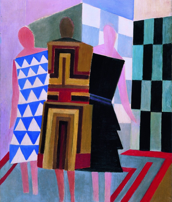 Simultaneous dresses (The three women) 1925 - Tate