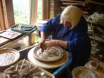 Inspiring Artist of the Day - Mary Wondrausch