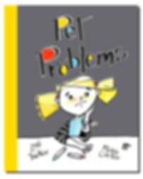 Cover for unpublished book by Zoe Tucker: Pet Problems